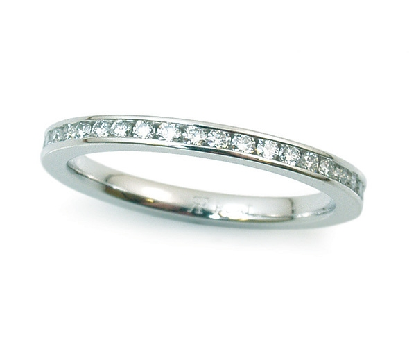 Channel-set Round Eternity Band