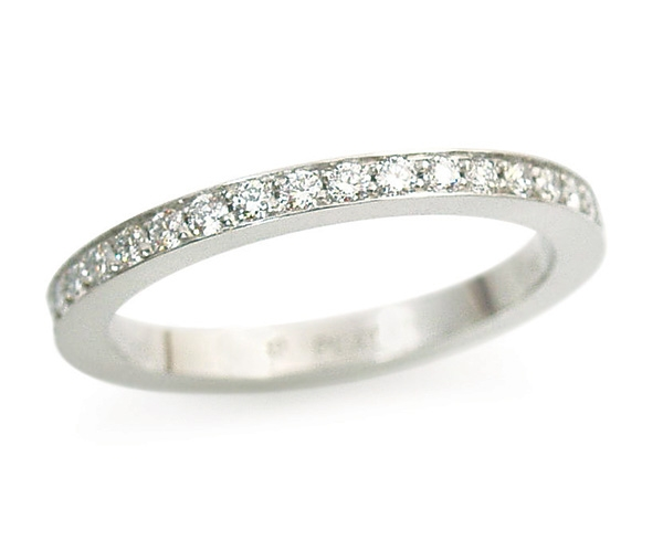Round Brilliant Bead-set Eternity Band