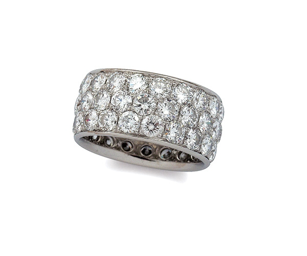Pave-setting Eternity Band