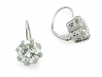 Round Brilliant Diamond Earrings