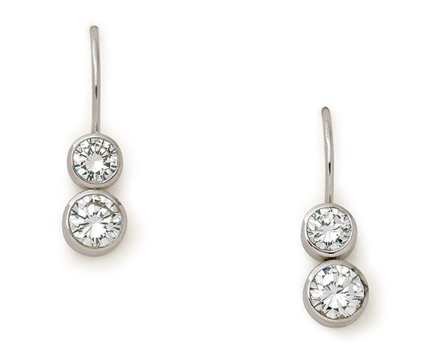 Round Brilliant Bezel-set Diamonds
